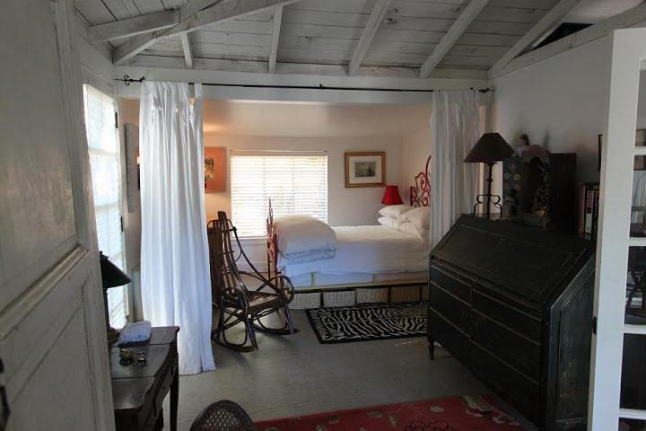 second living space and bedroom