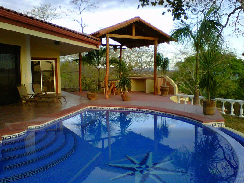 Infiniti Pool and Gazebo
