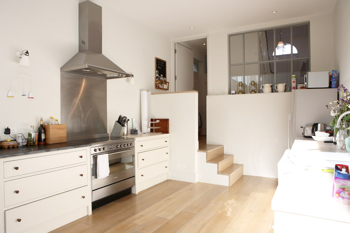 Architect designed kitchen and dining room