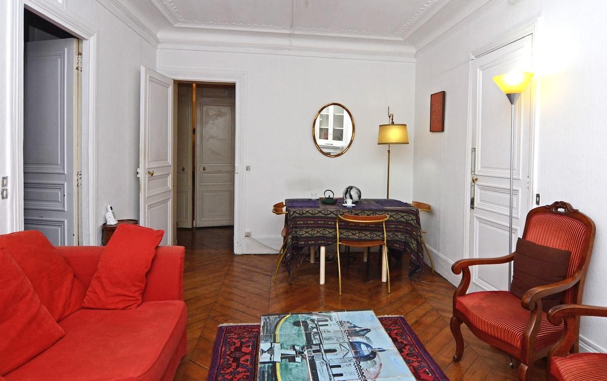 Nice big room in Paris, Le Marais