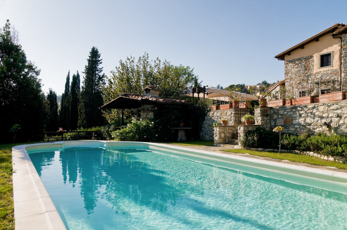 Holiday in Toscany in the Tinaia