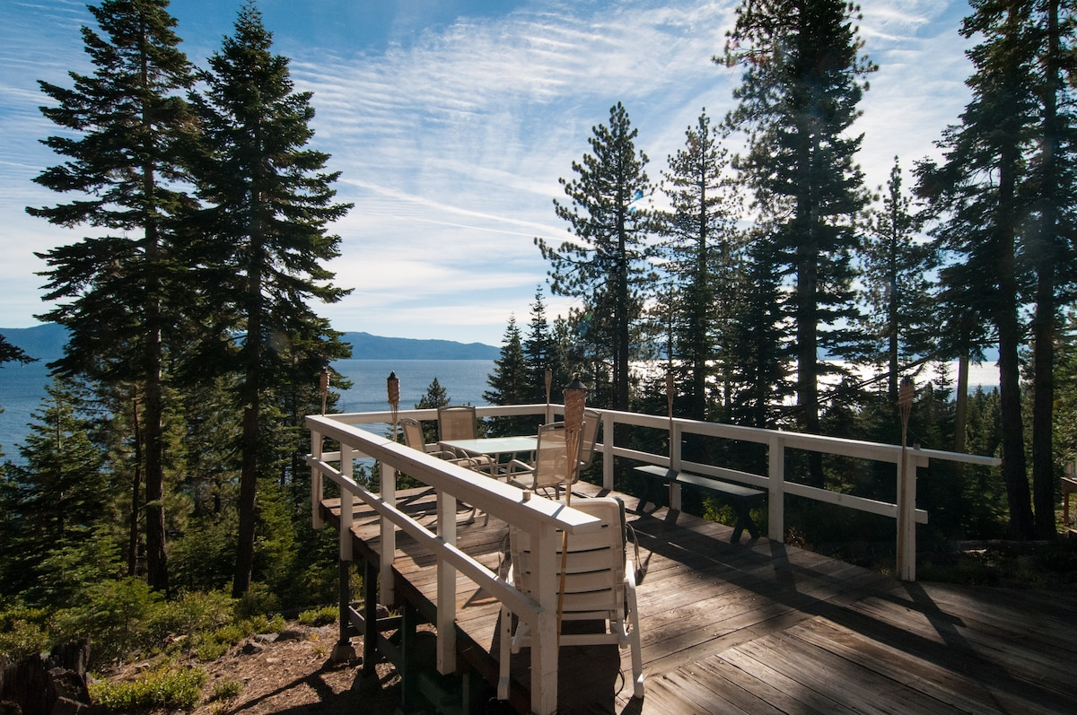 North Tahoe Lake View Cabin