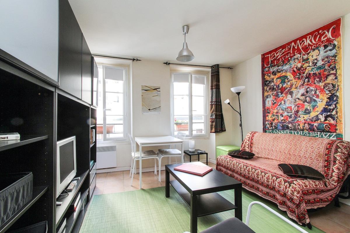 Nice Studio in Bastille area