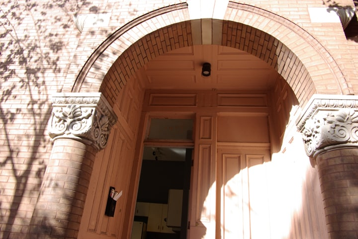 Classic arching doorway