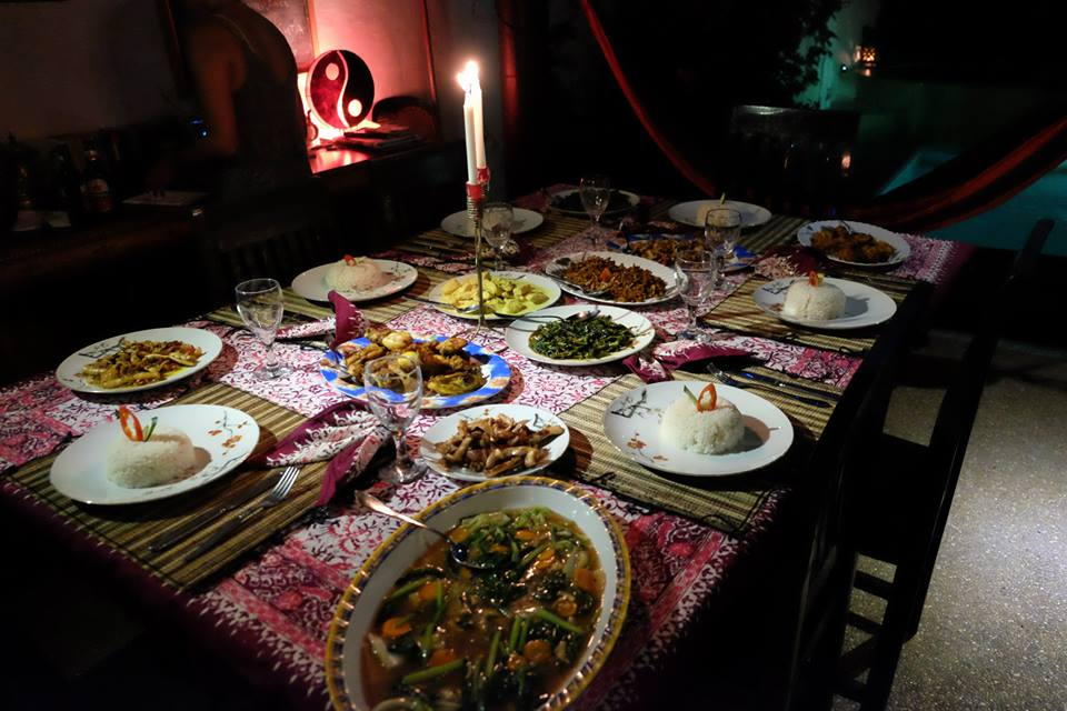 Great home cooked Indonesian Buffett, just for you
