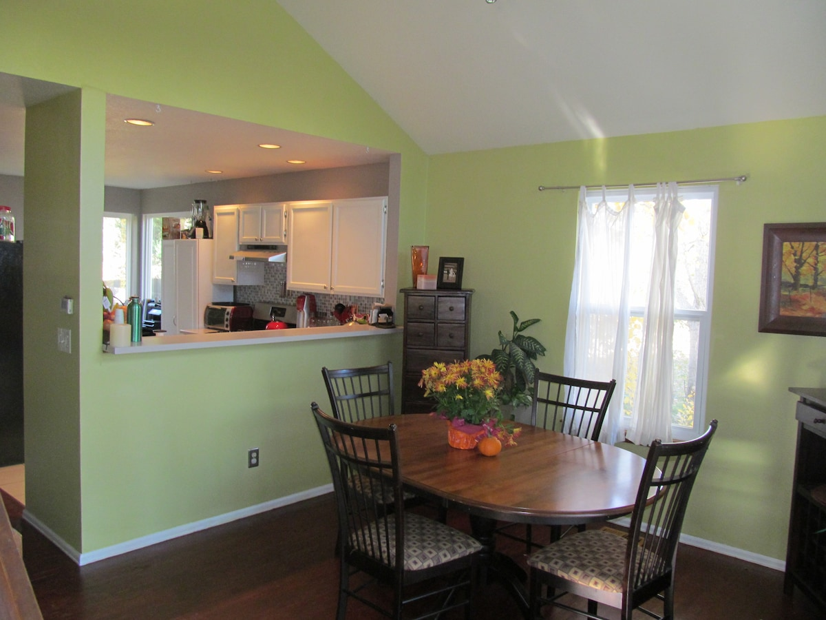 Dining Room, Looking Into Kitchen