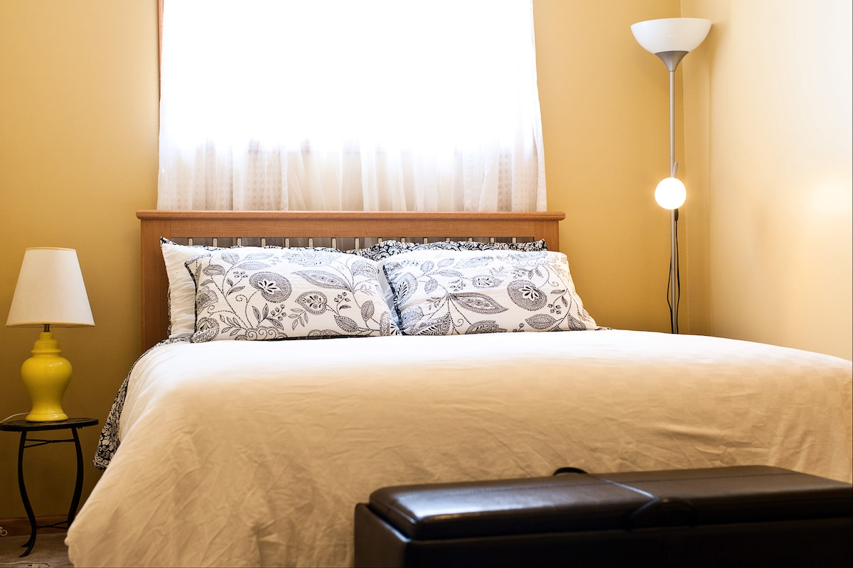 Guest bedroom - your resting place away from home.