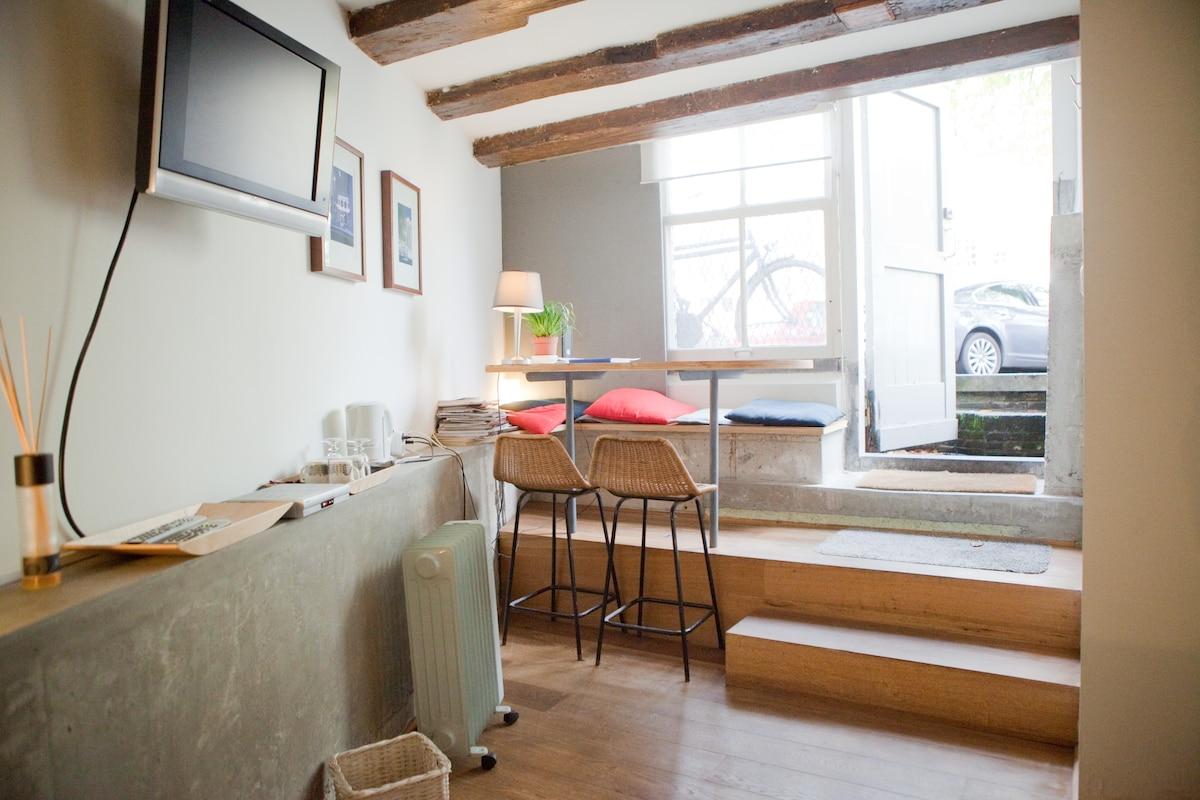 A cozy studio Singel Canal CENTER