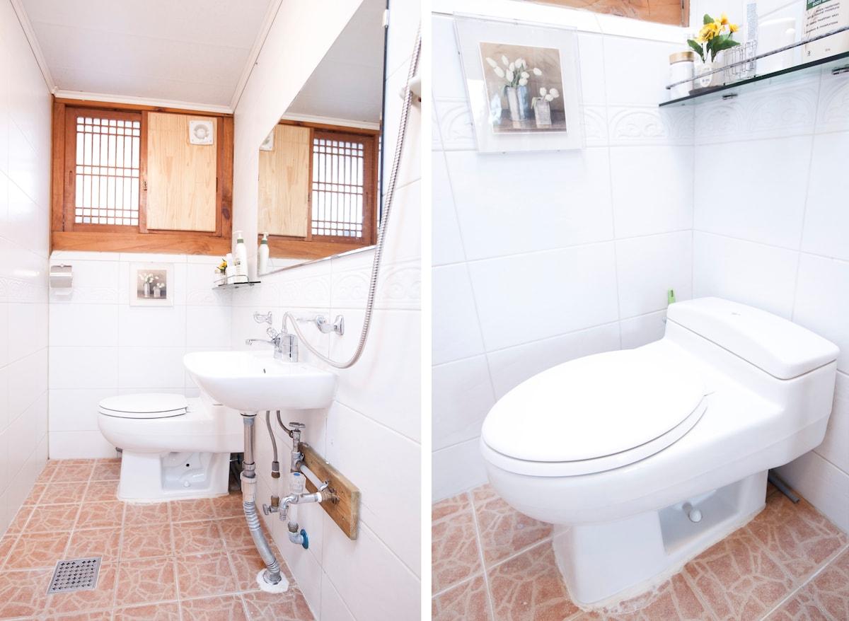 Ondol Doubleroom101&Shared Bathroom