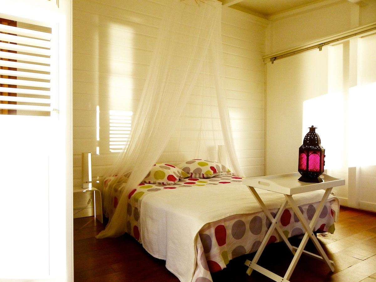 Cottage for 2 pers. on Guadeloupe