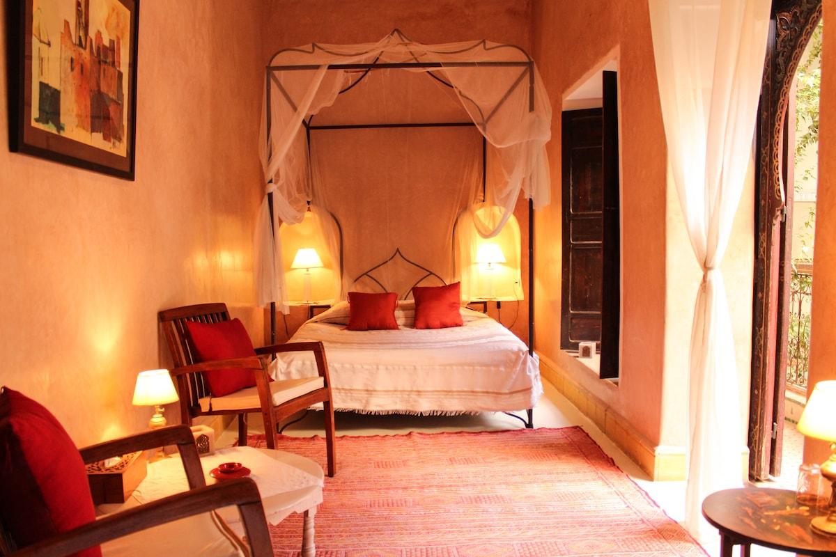 Elegant & quiet room, on sd floor!