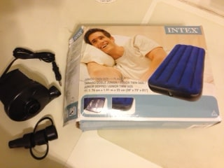 With the electric bump , you can have you mattress ready in no time!