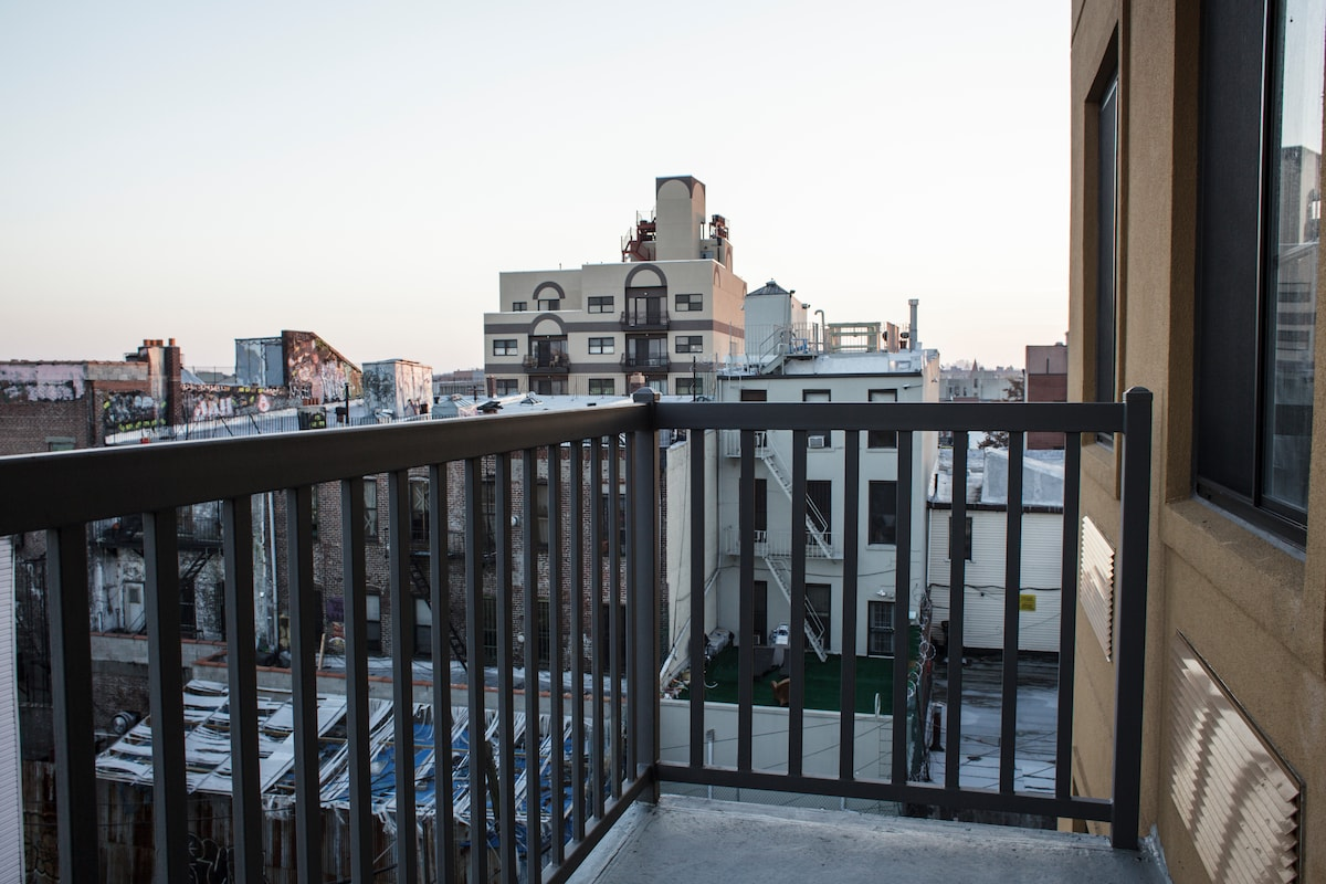 Beautiful Rooftop View, Rad Balcony