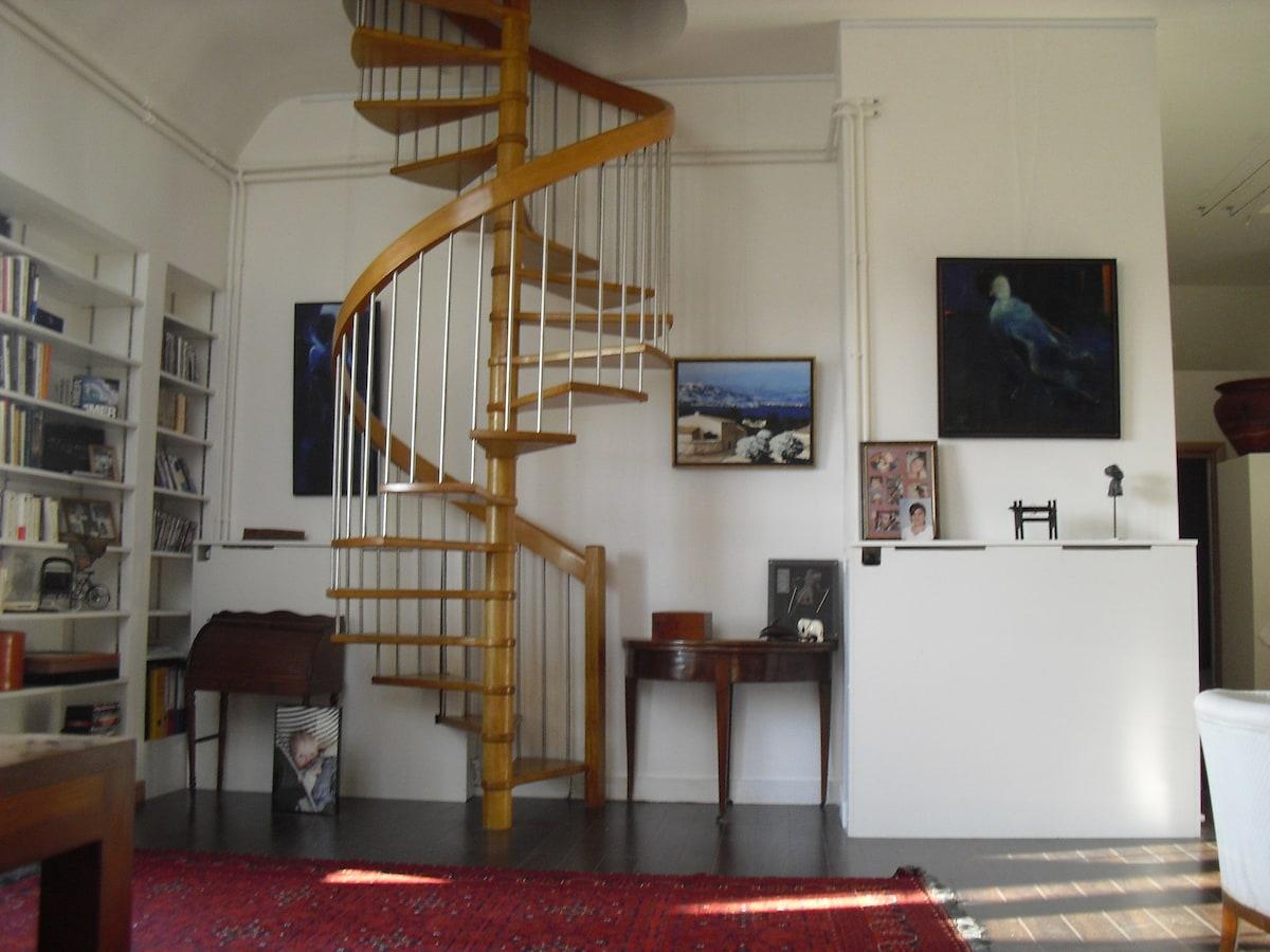 Loft Duplex in The Heart of Tours
