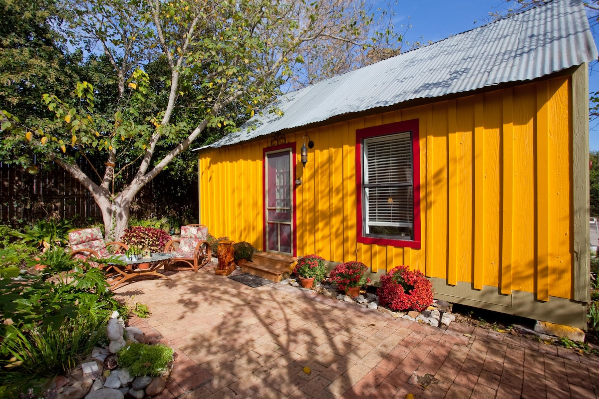 The home became a working shed, then briefly the kids' home,