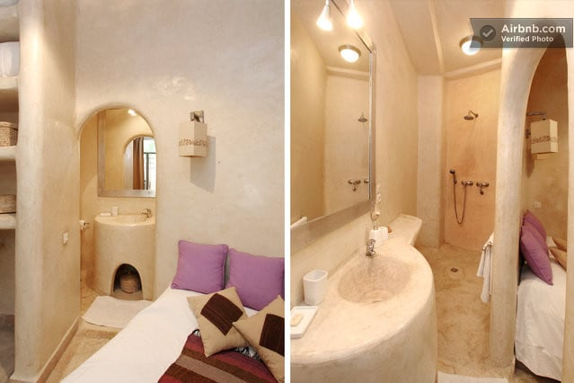 Room Beige: private bathroom.