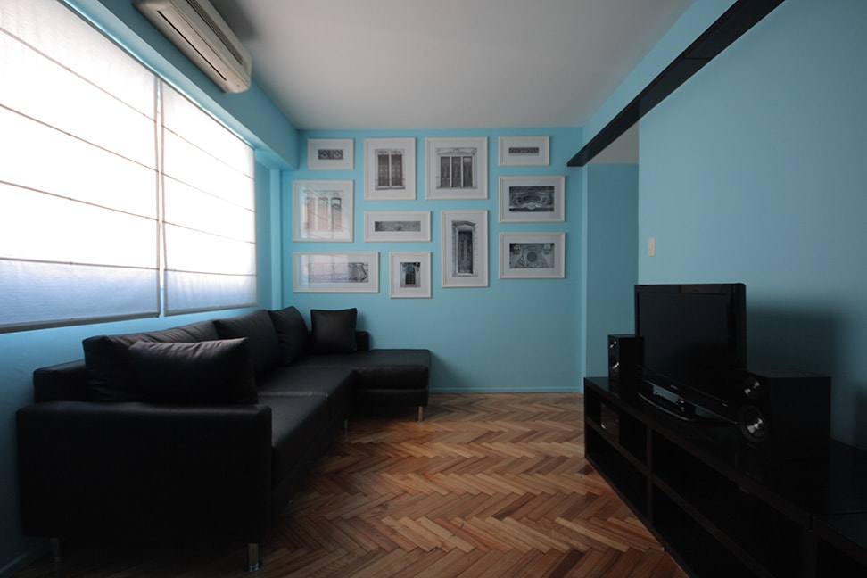 Living room - Why don't you stay home and just relax today?