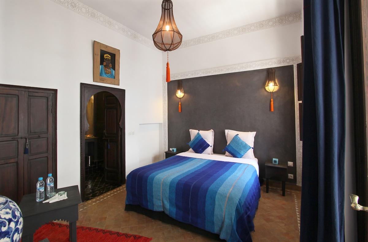 chambre double Blue