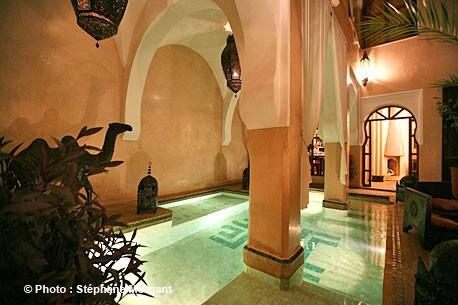 Riad Selouane/Sherazade, pool
