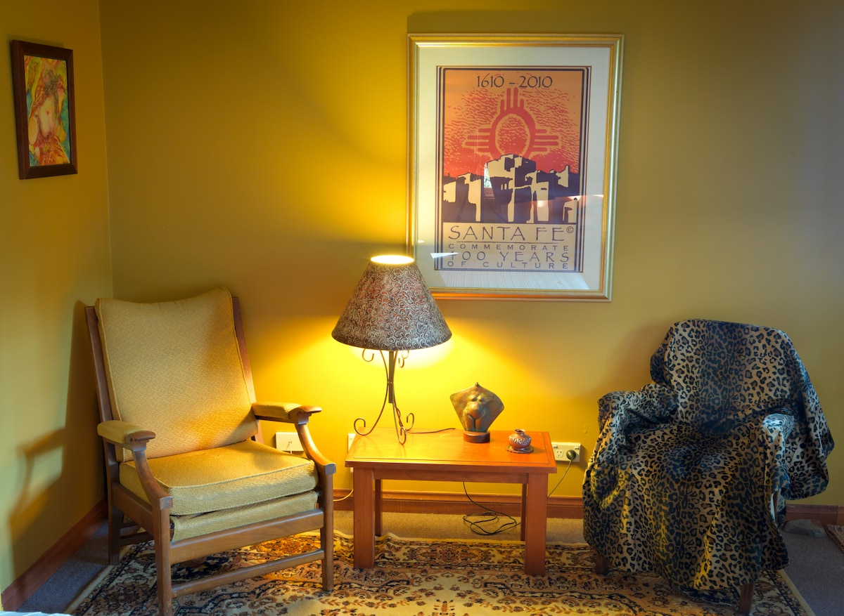 Your own in-room sitting area