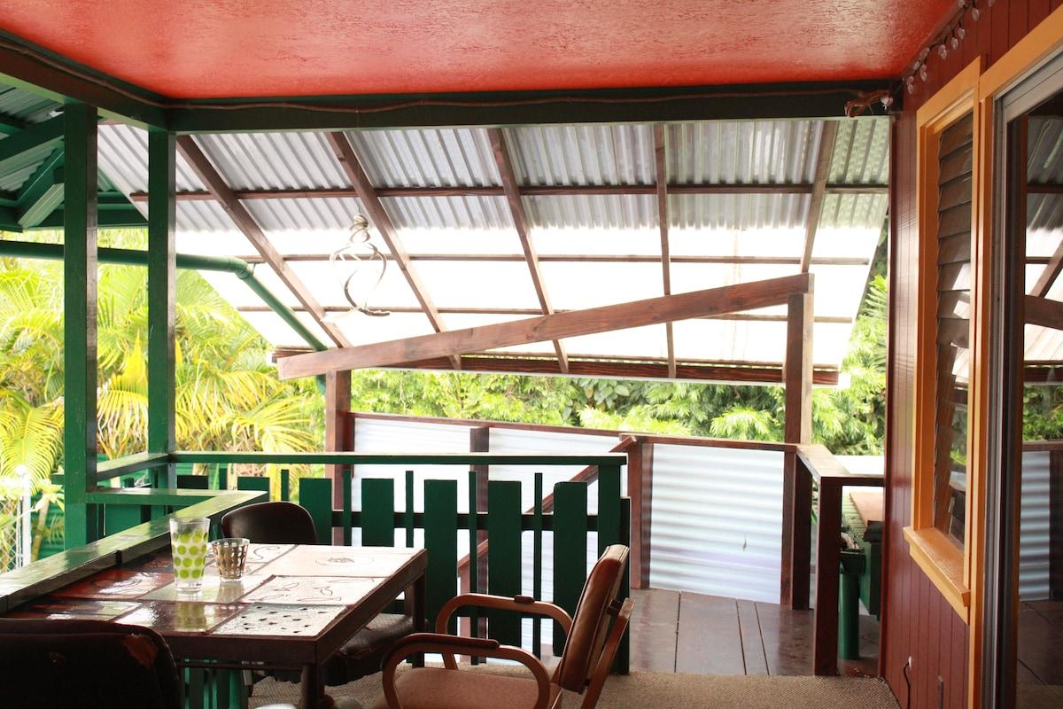 Outdoor Dinning Room #3 - Garden View Lani (Balcony)