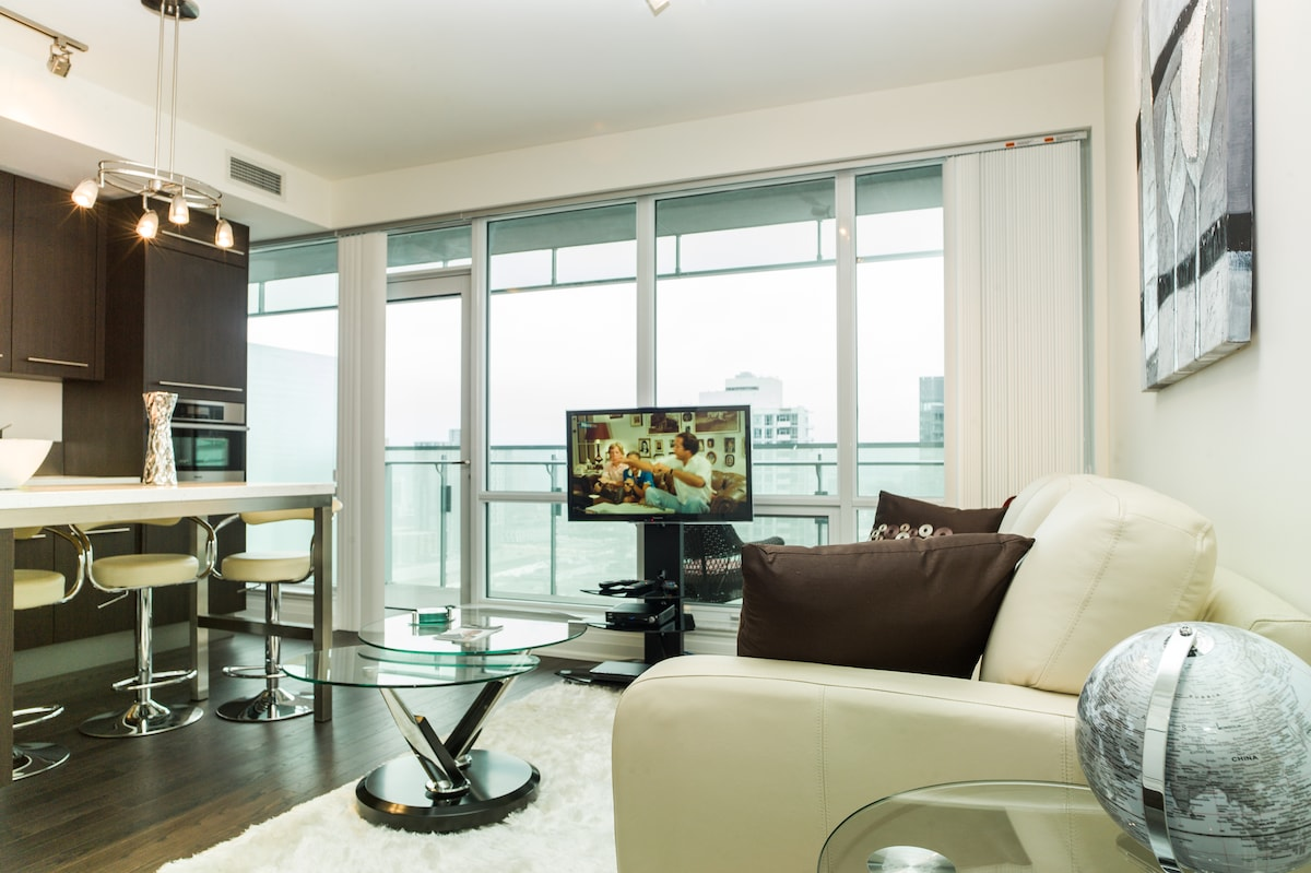 Luxury Living from over 30 stories high!
