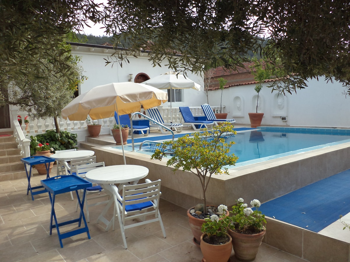 A Boutique Hotel in a traditional  Turkish village close to Ephesus and the Aegean