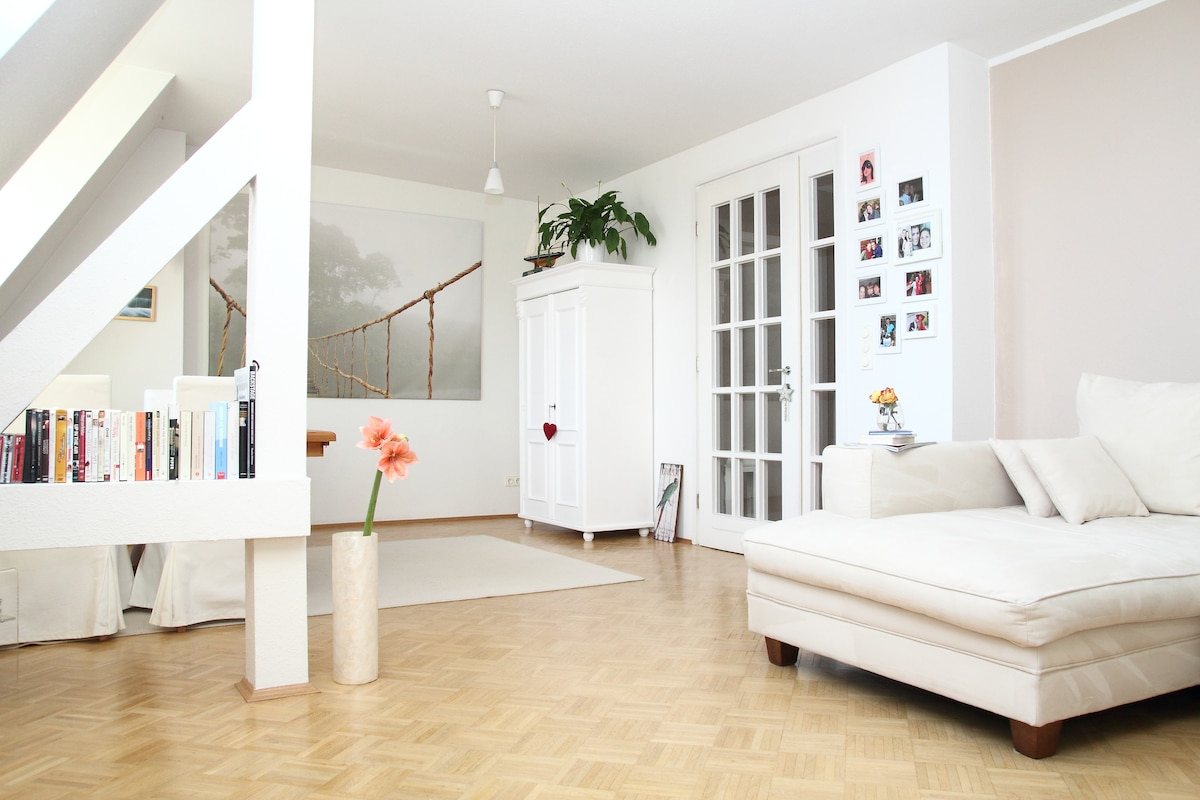 Charming & Sunny Rooftop Apt. in HH