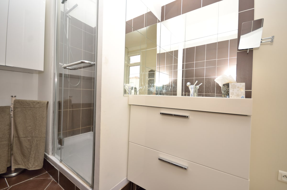 Master Room With Open Bathroom