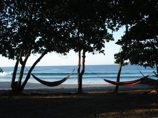 Sand BEACH FRONT Bamboo Bungalow