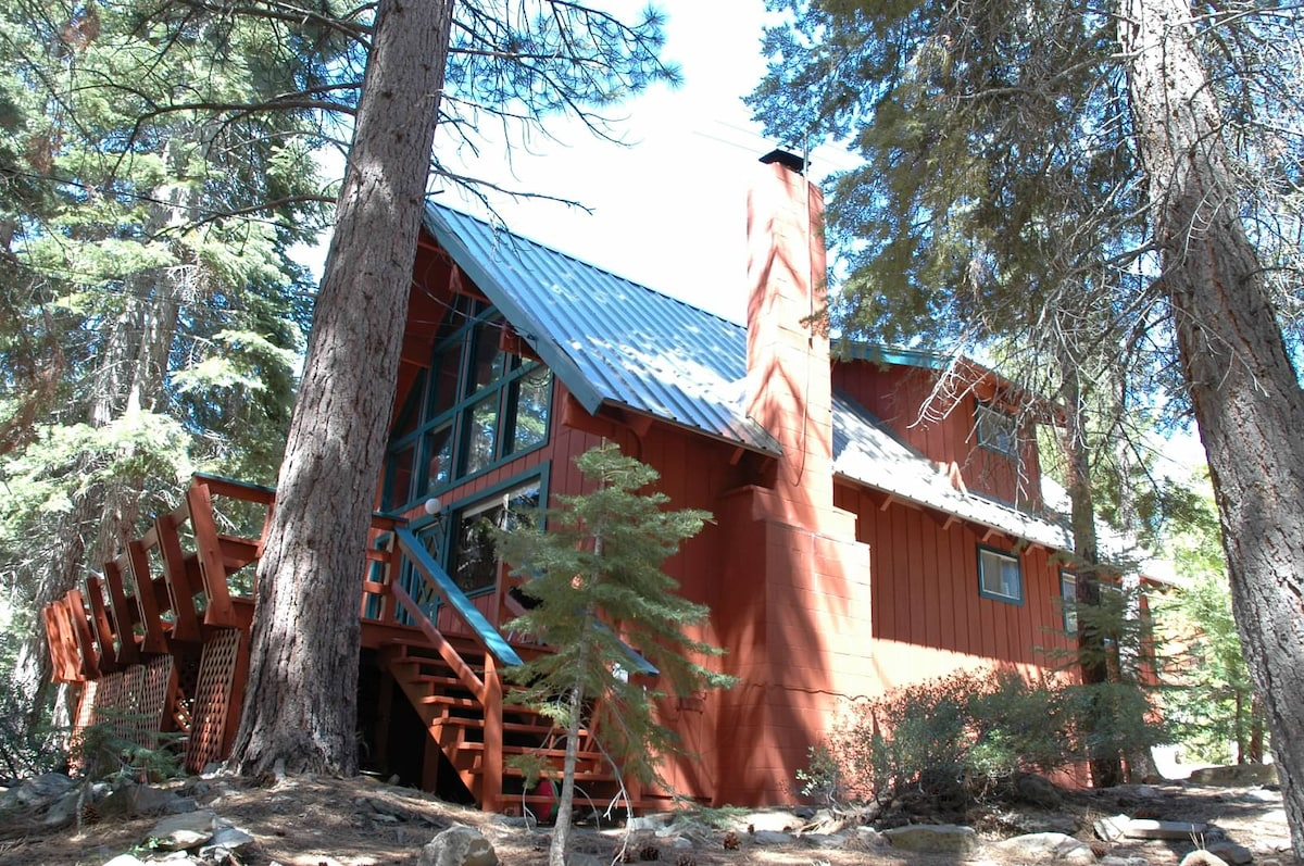 Cute, affordable North Tahoe Cabin
