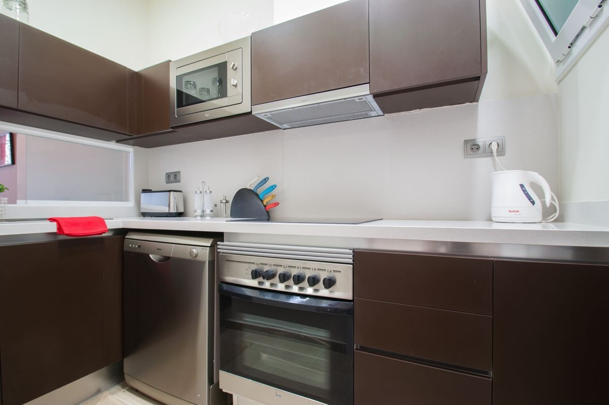 New terrace apartment in the center