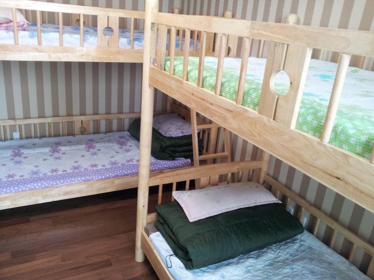 Dorm 6bed#5-comfort&cozy,convenient