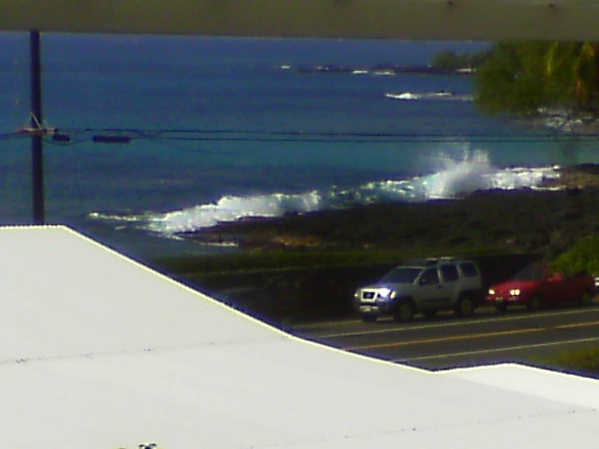Lanai/porch shore view