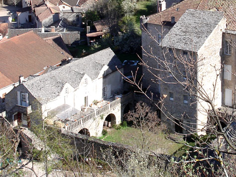 castle historic site gorges of the