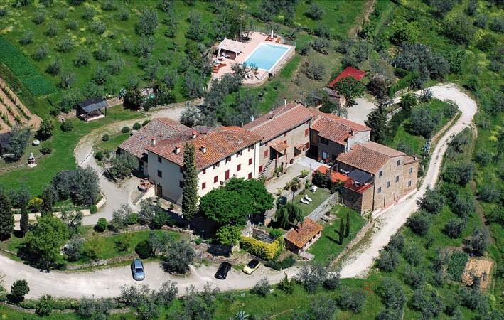 Organic farmhouse in Tuscany Vinci
