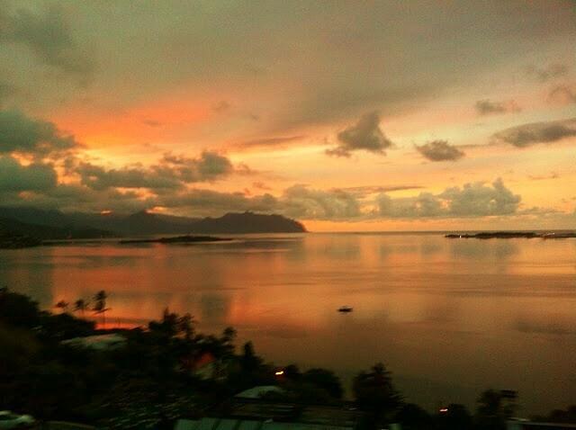 Spectacular evening views
