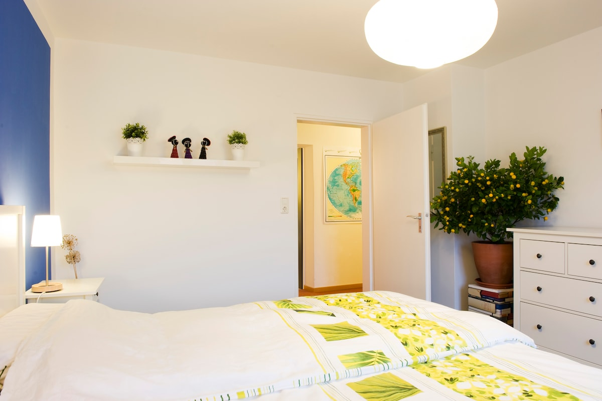This is the room we have for rent. Dieses Zimmer wird vermietet.