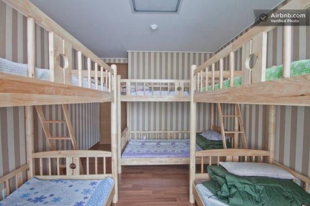 Dorm 6bed#2-comfort&cozy,convenient