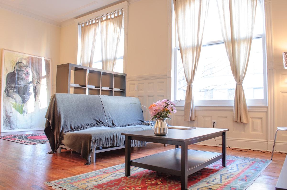 Loft apartment, 10 min from NYC