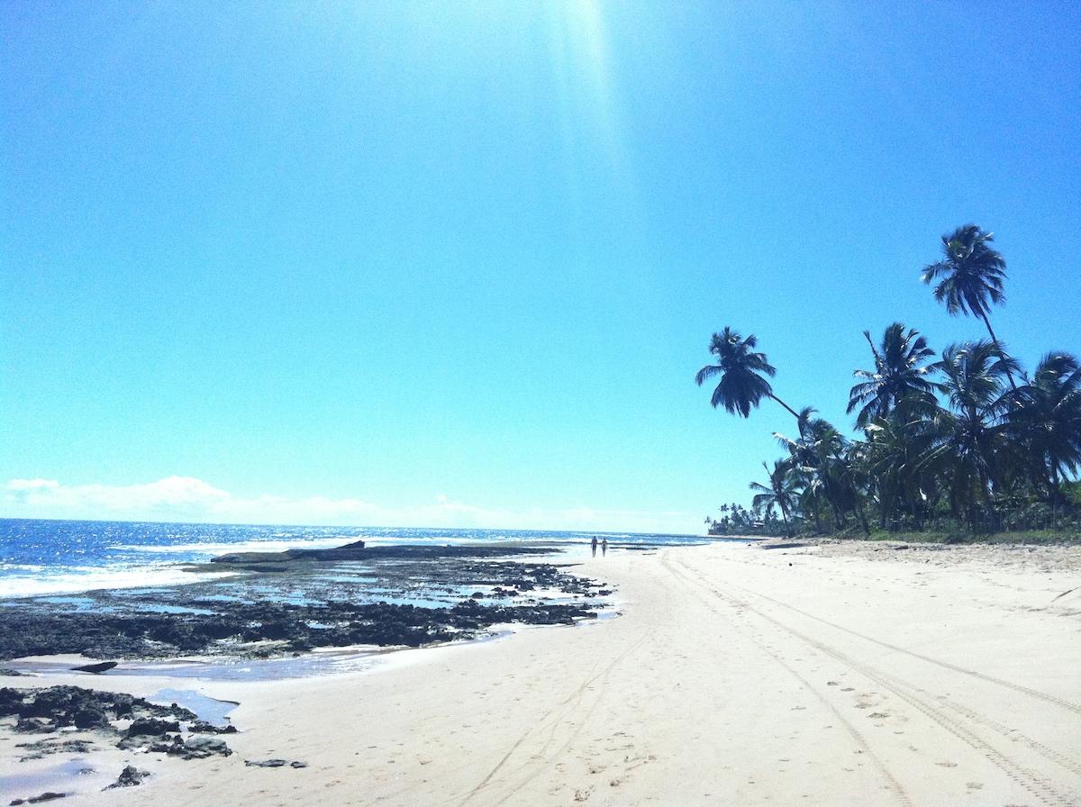.. endless beaches.