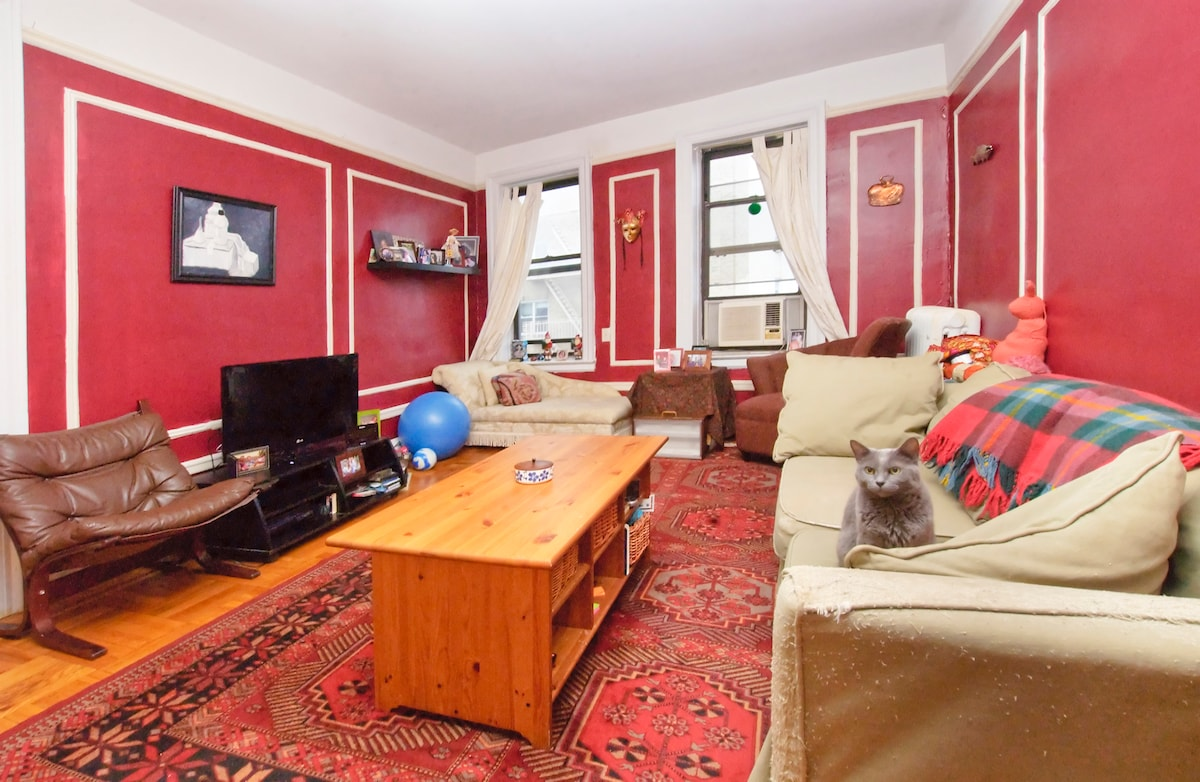 Cozy apartment only 20 minutes from Midtown by A Express subway and 30 minutes from Times Square