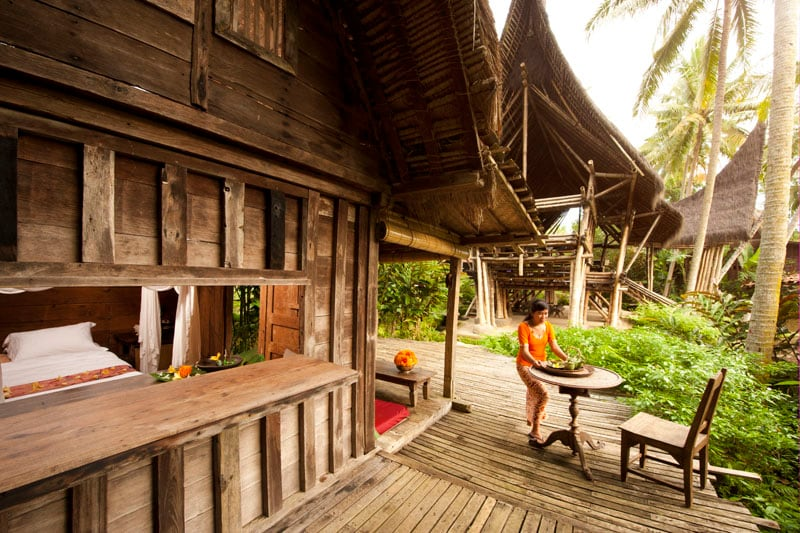 The House is constructed entirely of teak