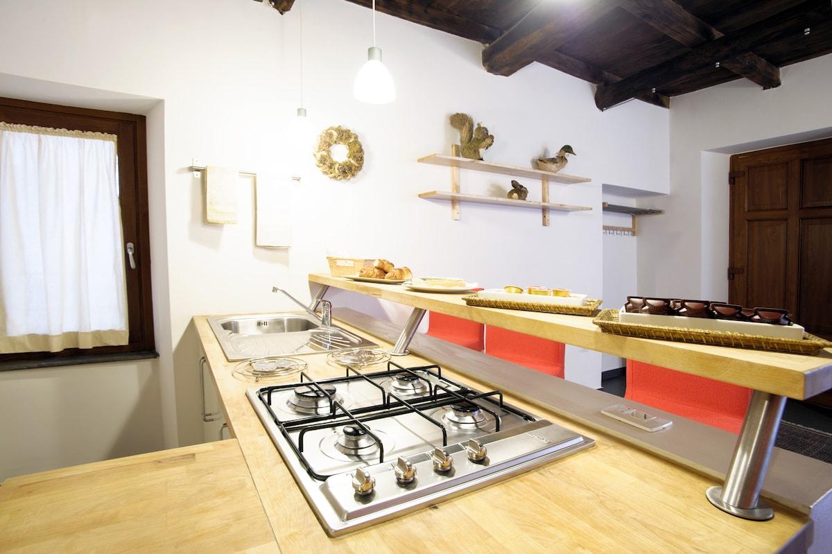 Camera Comune\Colazione (Cucina) - Common\Breakfast Room (Kitchen)