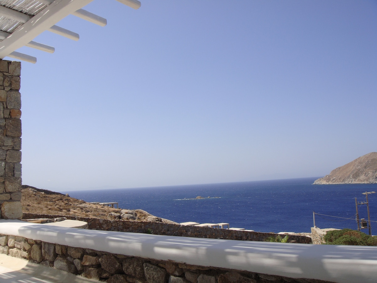 aegean blue at its best! (Your morning view from the veranda)