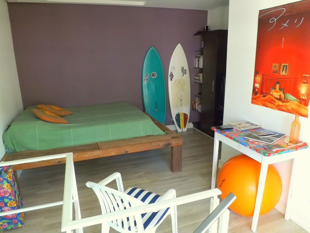Suite with private deck in Lagoa