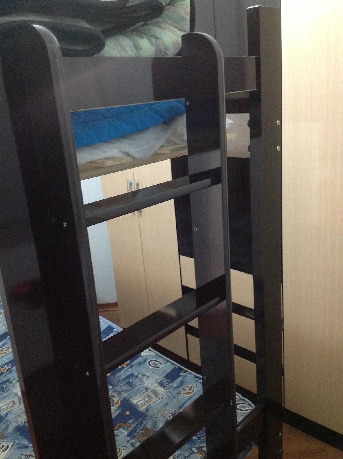 Quarto com armário e treliche - agora com colchão Ortobom Pró-Saúde D33