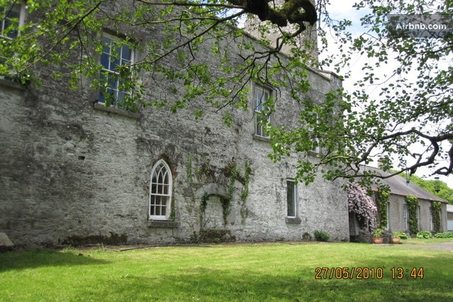 This is the front of the Castle, with the Georgian wing to your right and the Staircase Tower just to your left.