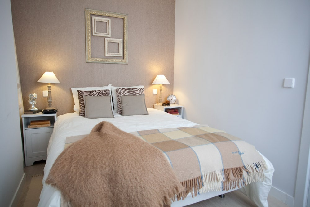 Classic - Style Bedroom. Bed KingSize. Comfortable and wide beds.