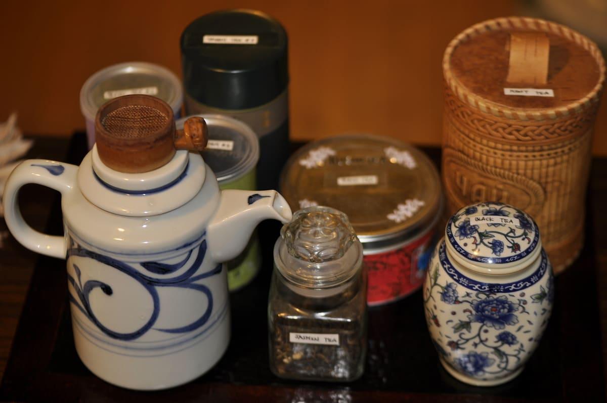 Do you like tea?  Varied teas are free.